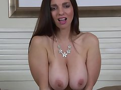 Mindi Mink - Full-Bosomed Cougar Plays Respecting He - mindi mink