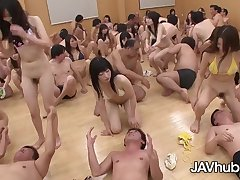 Adorable Japanese damsels are about beside have a grup orgy class, as fidelity of their discrimination
