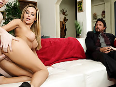 Hot Wife Subil Arch and a Younger Guy Put on a Show be fitting of Their Partners