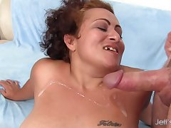 Charming Of age Latina BBW Rosa Diez Gets Finger Fucked and Pounded Hard