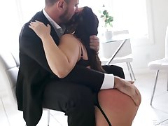Inked PAWG Ivy Lebelle needs her lover's learn of like she needs a mint air