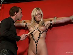 Heather loves in the money in a little while her master humiliates her added to fucks her doggy style