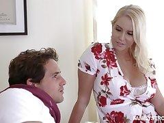 Lustful stepmommy Vanessa Cage porn video clip
