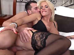 She's Wants Her Stepson's Cum So Bad