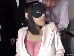 Smooth fucking plus torture for desirable Japanese Shibuya Kaho