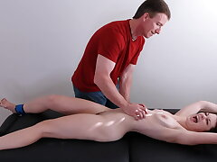 Bound naked and tickle tortured