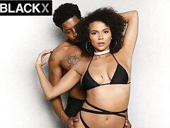 AllBlackX: Unpretentious Beauty Alina Ali Dicked Down By Elephantine Cock