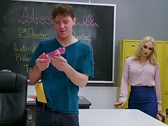 Passionate sissified teacher finds out this dude is attracted to their way
